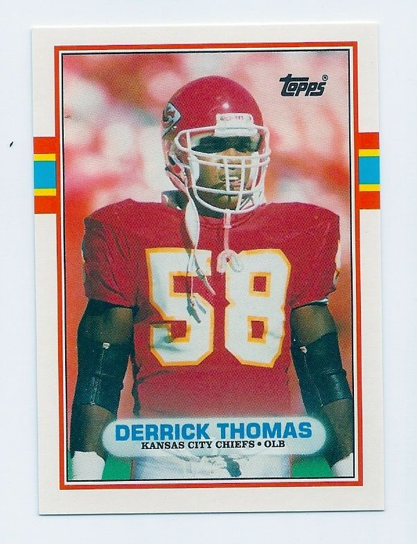 23c42c76d6e Details about 1989 TOPPS #90T UPDATE TRADED DERRICK THOMAS ROOKIE CARD RC  MINT   Tops San Francisco 49ers   Derrick thomas, Cards, Football cards