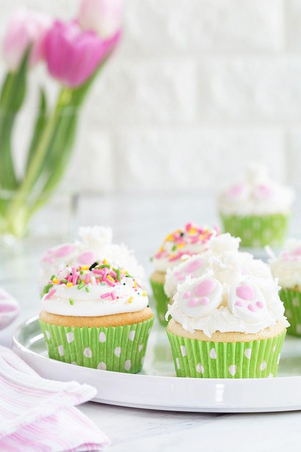Who could possibly resist these adorable Bunny Butt Cupcakes? Your little ones will love this fun, festive cupcake!