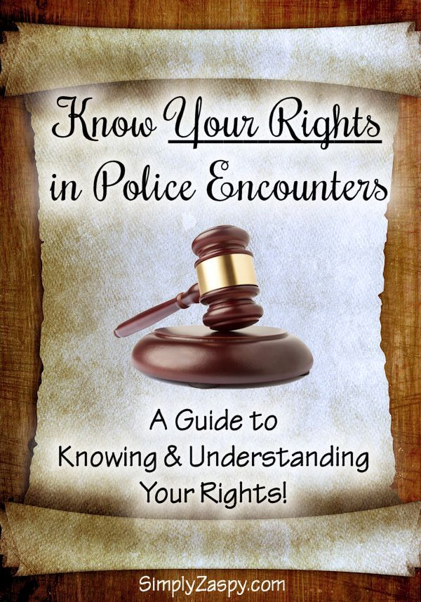 A guide to knowing & understanding your rights during a Police Encounter. Whether its a traffic stop, or a cop comes to your home. Learn what rights protect you!