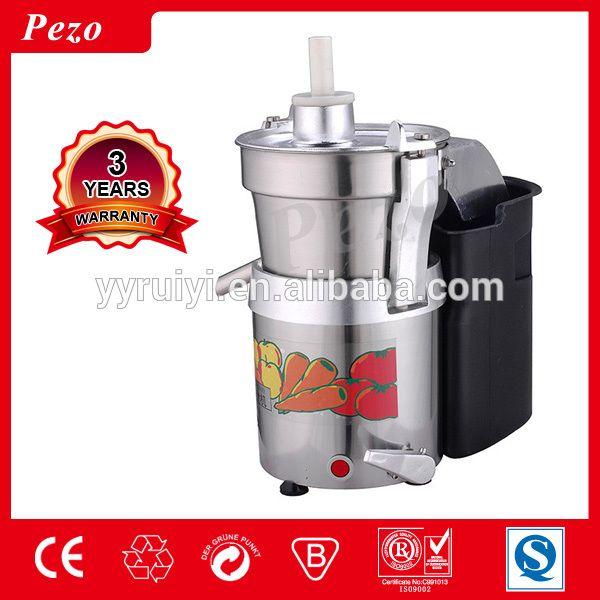 automatic Aluminium Body commercial fruit carrot juicer