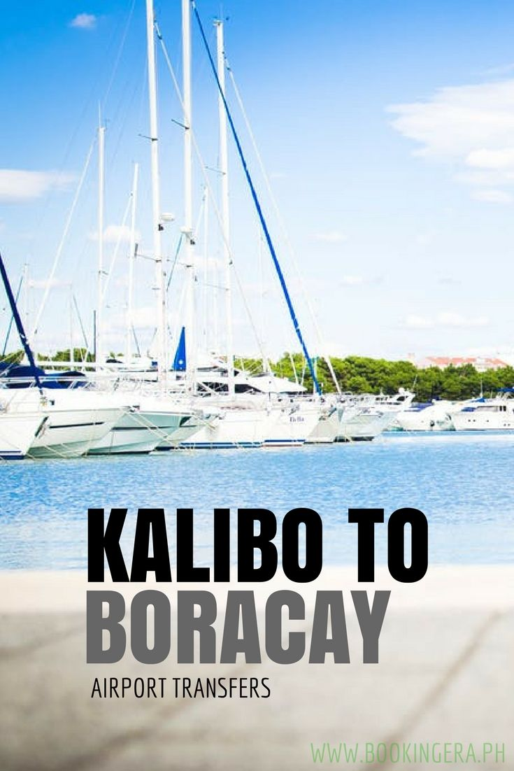 Visiting Boracay for the first time? Here are easy options for your Kalibo Airport to Boracay transfer.