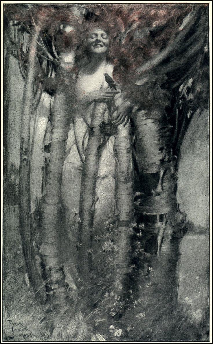 Frank Vincent DuMond (1865 - 1951American illustrator and impressionist painter