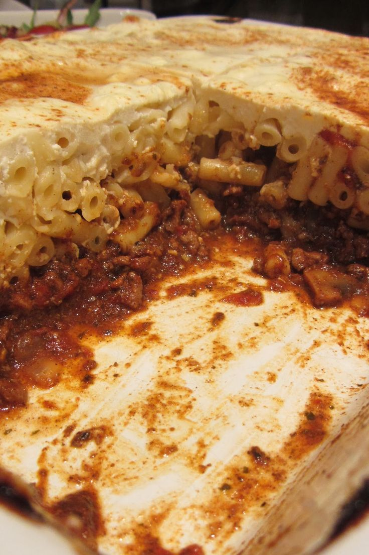 Slimming World Delights: Pastitsio