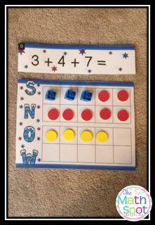 The Math Spot: Double Ten Frames