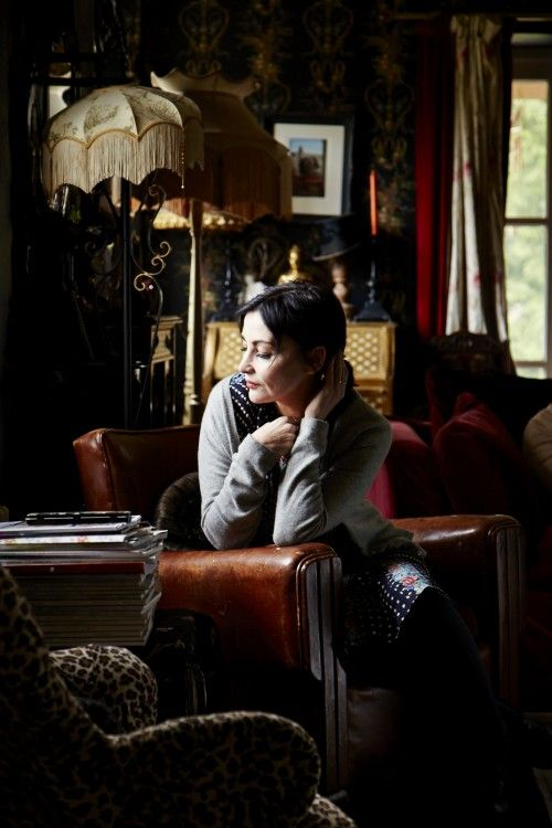 Pearl Lowe at Home