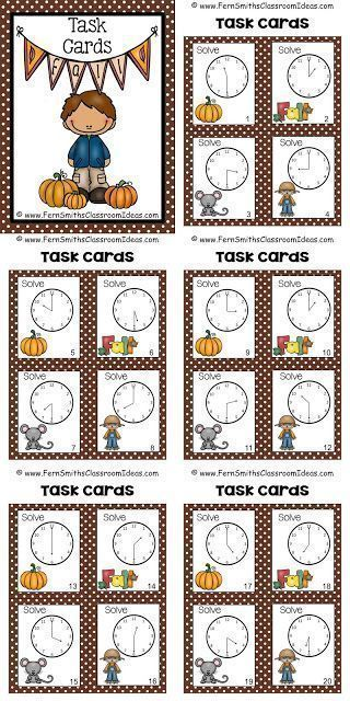 1000+ images about Math: Telling Time on Pinterest | Anchor charts ...