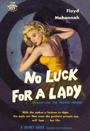 Image result for no luck for a lady pulp cover
