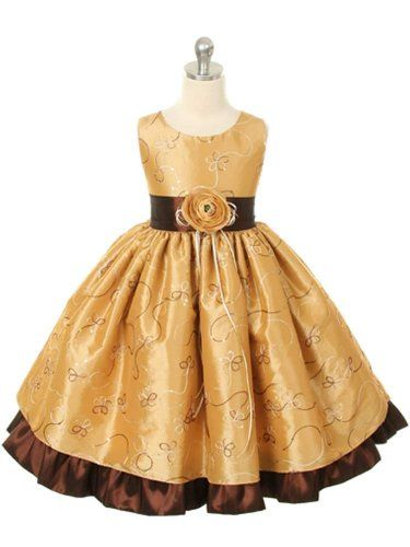 SIZE 9/10 Gold – Girls Christmas Holiday Dress (Assorted Colors) Size Toddler to 12 « Dress Adds Everyday