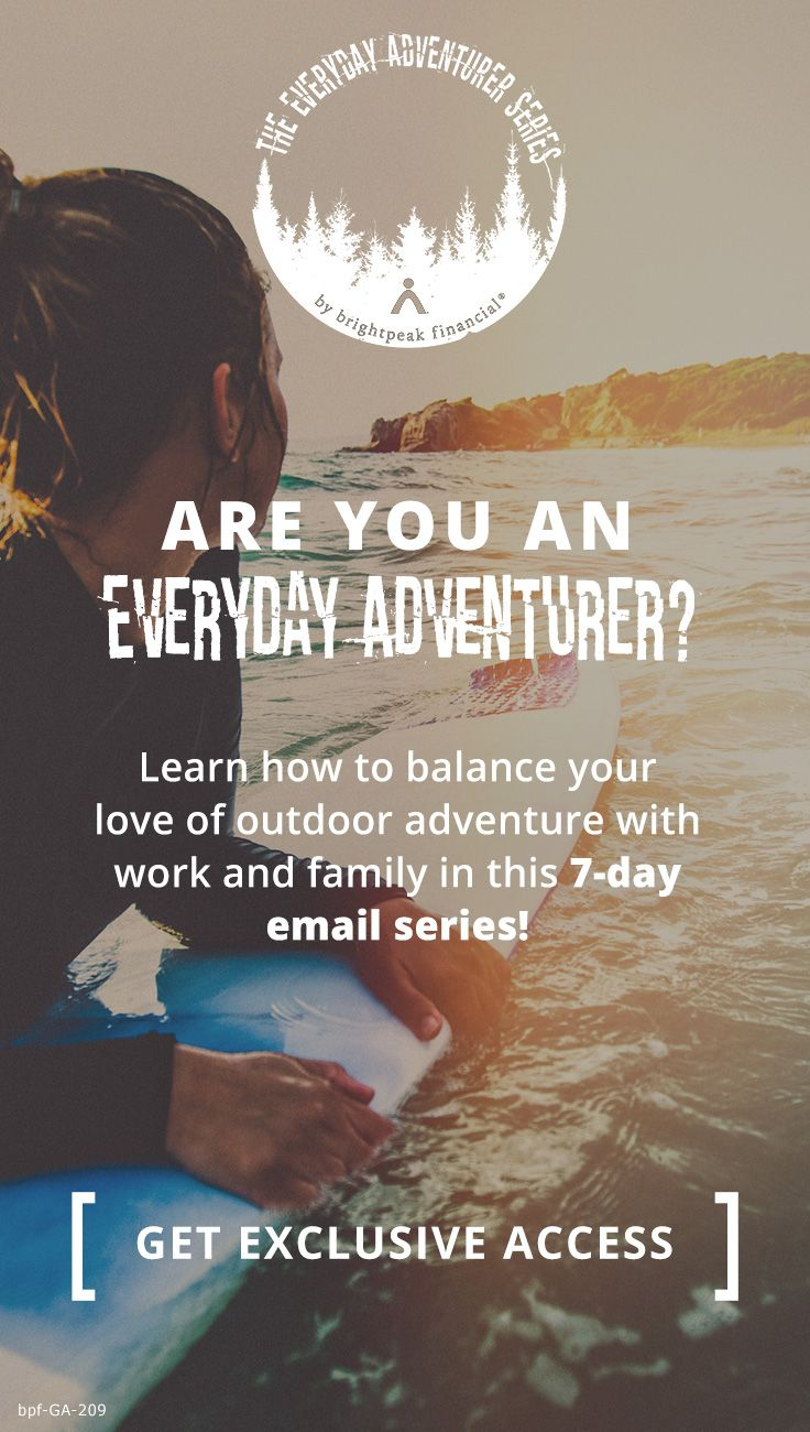 Sign up to receive exclusive interviews with real-life adventurers! Cool stuff awaits!