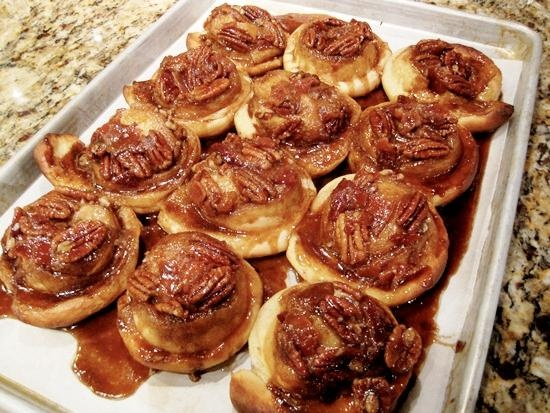 #Recipe: Chef Zac Young's #Bacon Pecan Sticky Buns! Perfect for Dad! #ForDad