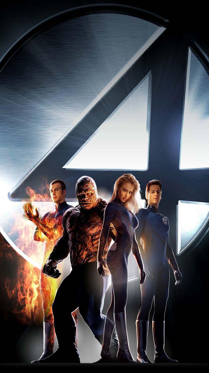 Fantastic Four 2005 Phone Wallpaper Moviemania Fantastic Four Movie Fantastic Four Marvel Comics Funny