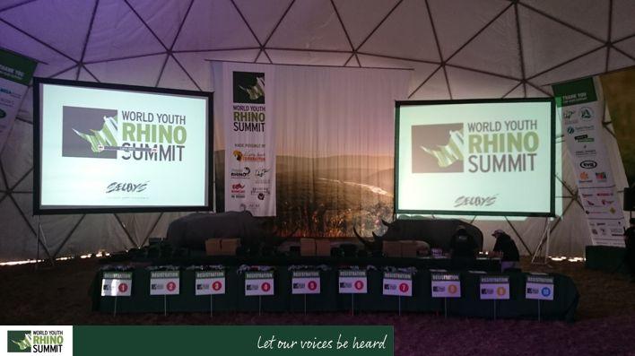 The stage is set... #RhinoSummit2014 #rhino #explore #nature #wildlife