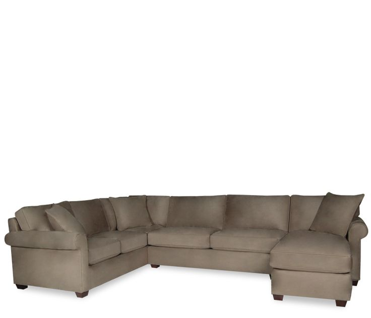 Marshall 3-pc Sectional With Chaise - This item may be custom ordered in over 100 covers! Transitional