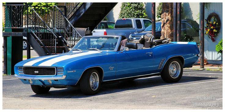 A 1969 Camaro SS