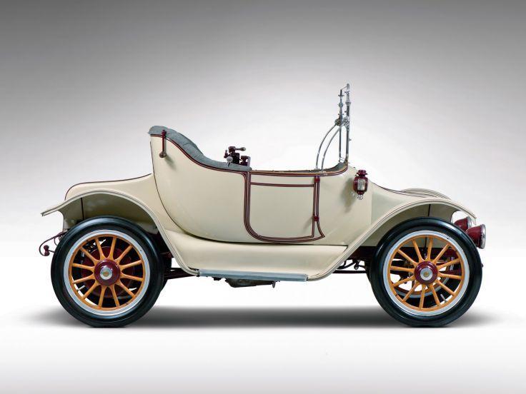 1914 Detroit Electric Model-46 Cape-Top Roadster