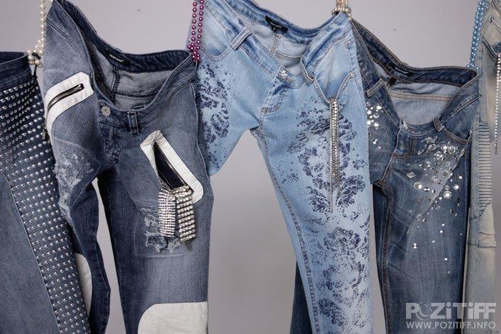 Расшитые бисером джинсы идеи