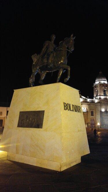 Plaza de Bolivar. Tunja.