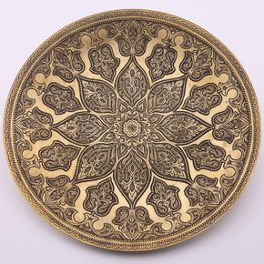 www.arastan.com journey wp-content uploads 2013 02 Bukhara_Flower_Brass_Platter-AR0252-m.jpg