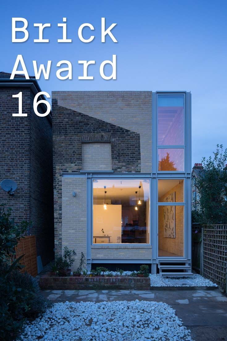 #WienerbergerBrickAward 2016 nominee 11: House of Trace, UK by TSURUTA ARCHITECTS, UK. The architects paid particular attention to the original brick profiles so that new and original brick courses intentionally don't match and thus create clear contrast on the façade. Photographer: Tim Crocker