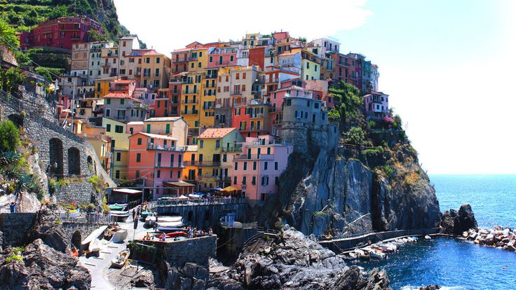 Manarola, Italy  by ~zottelguitar on deviantART