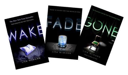 wake , fade, and goneWake Trilogy, Worth Reading, Lisa Mcmann, Reading Book, Book Worth, Favorite Book, Wake Series, Book Series, Book Reviews
