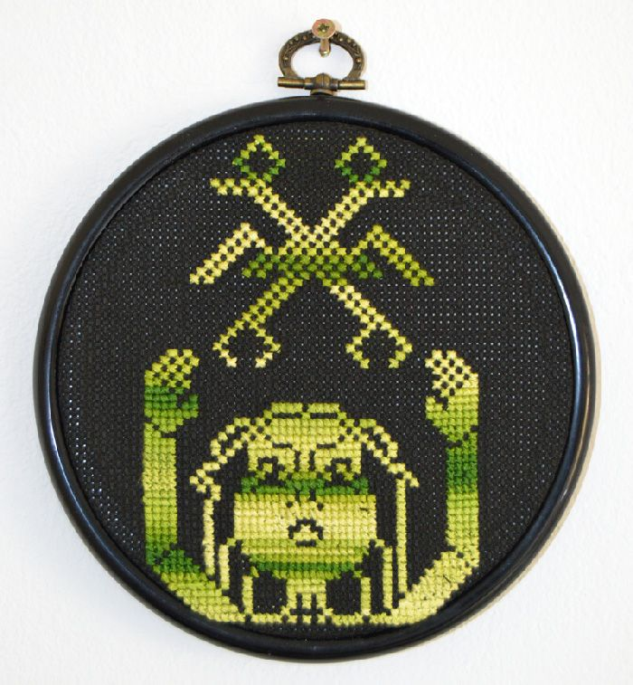 from #teletext to #cross-stitch