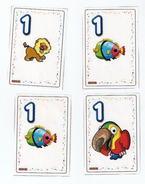 één, free printable / Jogo de Cartas - Sotão dos Peixinhos - Picasa Webalbums