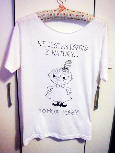 MAŁA MI ... koszulka ręcznie malowana w KIPEKE na DaWanda.com