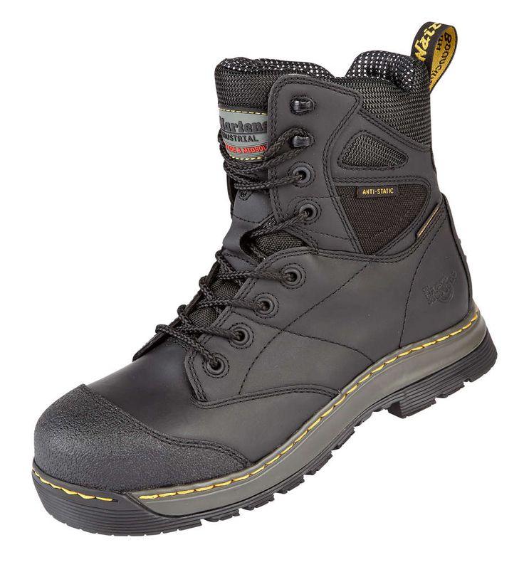 Portwest Toe Steelite Mid Cut Nubuck Steel Cap B - Black - UK 11/US 12/EU 46 uKAA0X