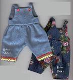 Puppen Latzhose - Free pattern