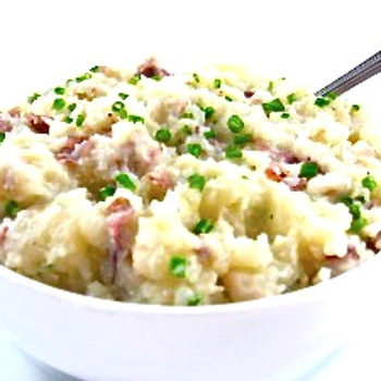 Skinny mash potatoes