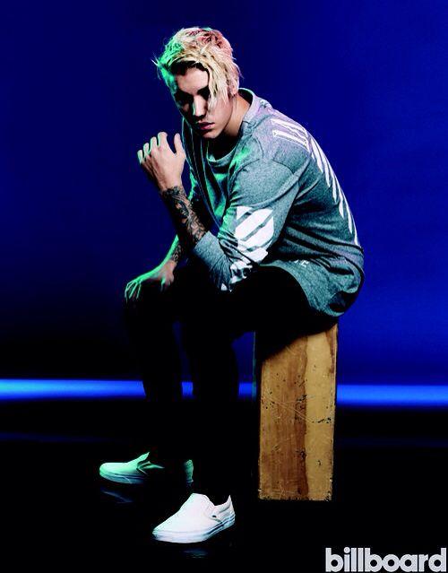 Justin Bieber - Billboard Magazine. November 2015.
