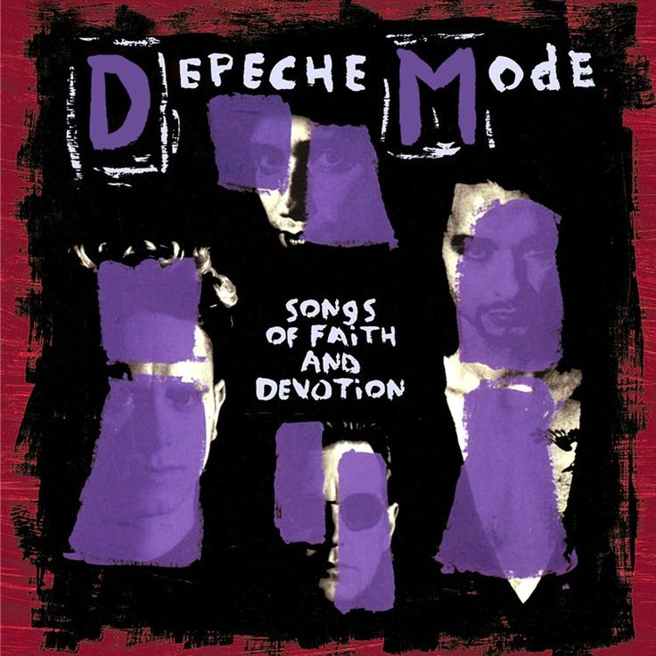 Depeche Mode - Songs Of Faith And Devotion 180g LP