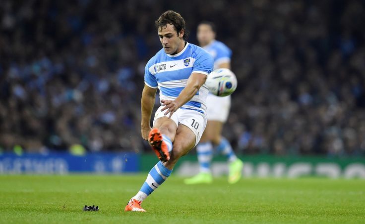"Nicolas Sanchez | Argentina's ""Los Pumas"" vs Ireland in the quarter finals of the Rugby World Cup."