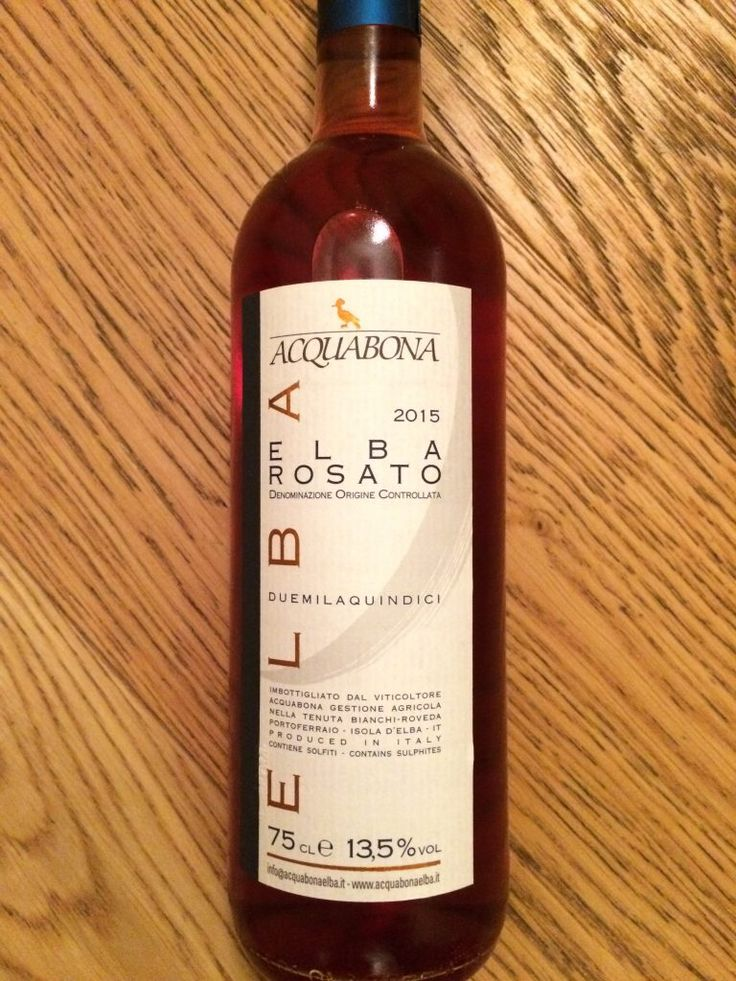 Aqucabuona Rosato, a very elegant rosè wine made of Sangioveto Syrah and Merlot grapes.