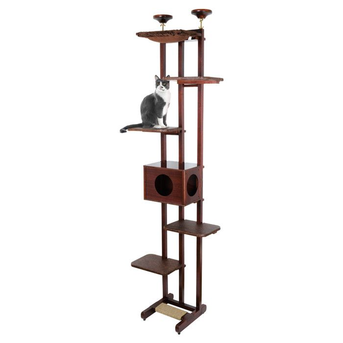 Hemingway Cat TreeSky Towers, Hemingway Cat, Treeconstruct Materials, Multiplication Perch, Eye Catching, Cat Treeconstruct, Chamberscratch Pads, Cat Trees, Cat Stuff