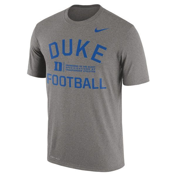 Duke Blue Devils Nike Legend Lift Performance T-Shirt - Gray - $29.99