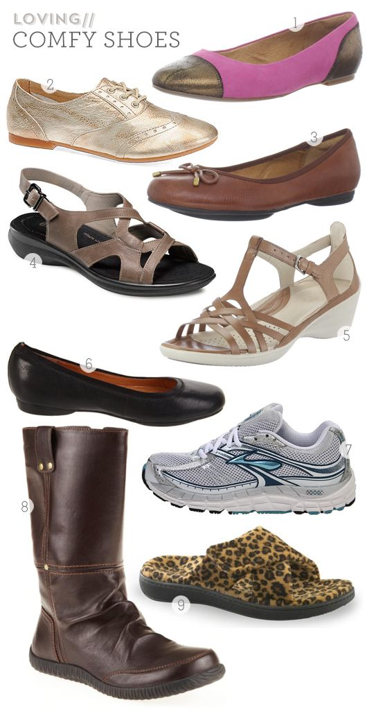 Comfort Shoes for Chronic Foot Pain by