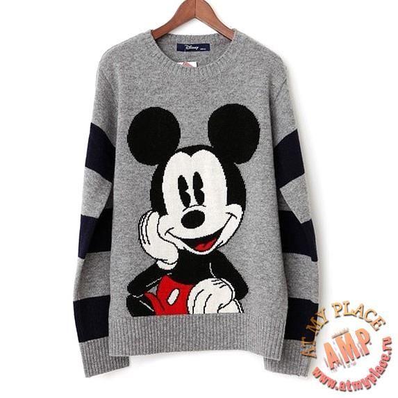Купить свитер с микки маусом