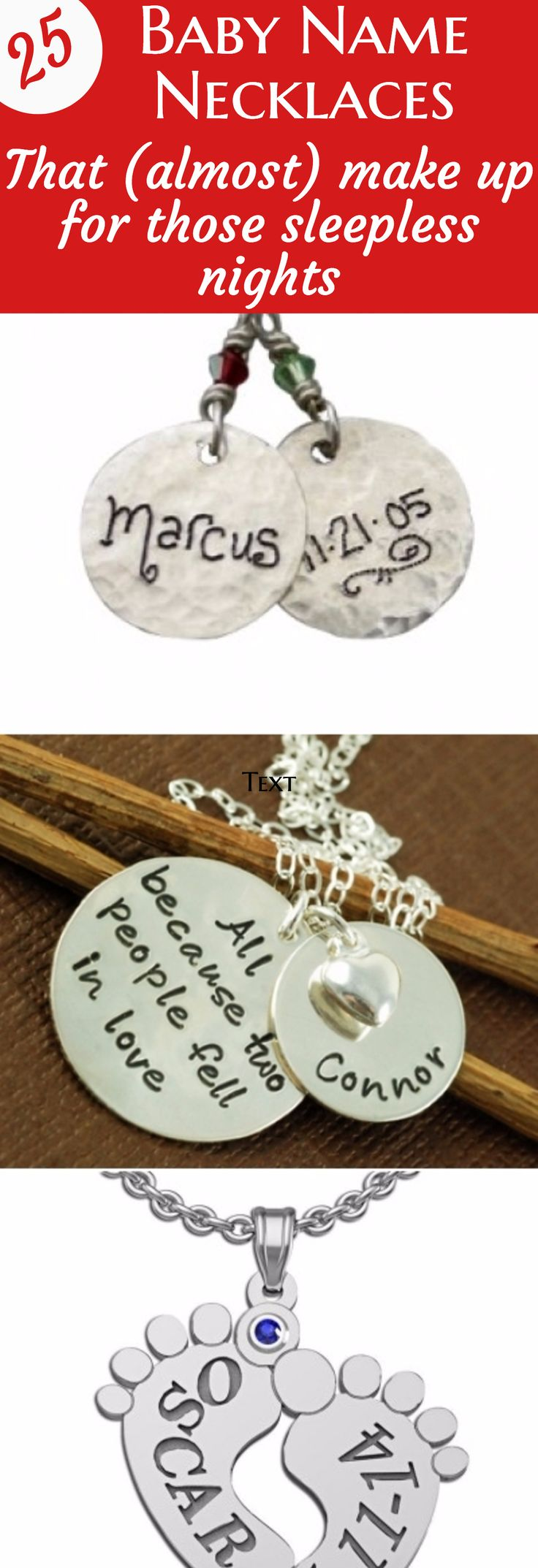 Best Christmas Gifts For New Moms Part - 28: New Mom Necklaces: Trendy Necklaces For The Stylish New Mother