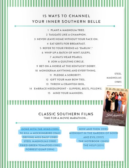 How to Channel Your Southern Belle-Sweet Southern Prep: Monday Manners