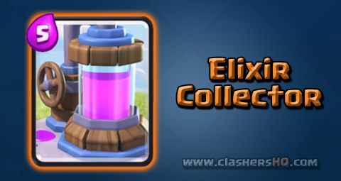 Find all about the Clash Royale Elixir Collector Card. How to get Elixir Collector & attack/counter Elixir Collector effectively.
