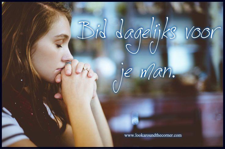Bid dagelijks voor je man of de mannen in je leven. Gebed heeft kracht, het maakt jouw sterk als vrouw van de man(nen) in je leven. Bid voor je zonen, je neven en je mannelijke vrienden. Zegen hun …