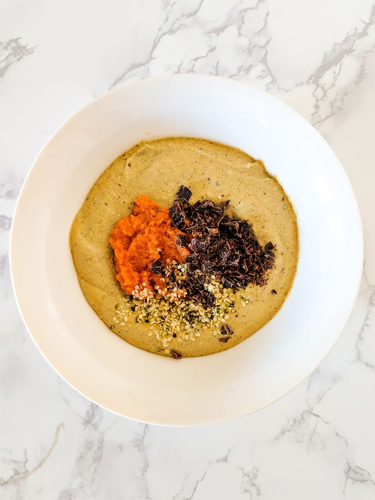 Keto Vegan Pumpkin Spice Smoothie Bowl