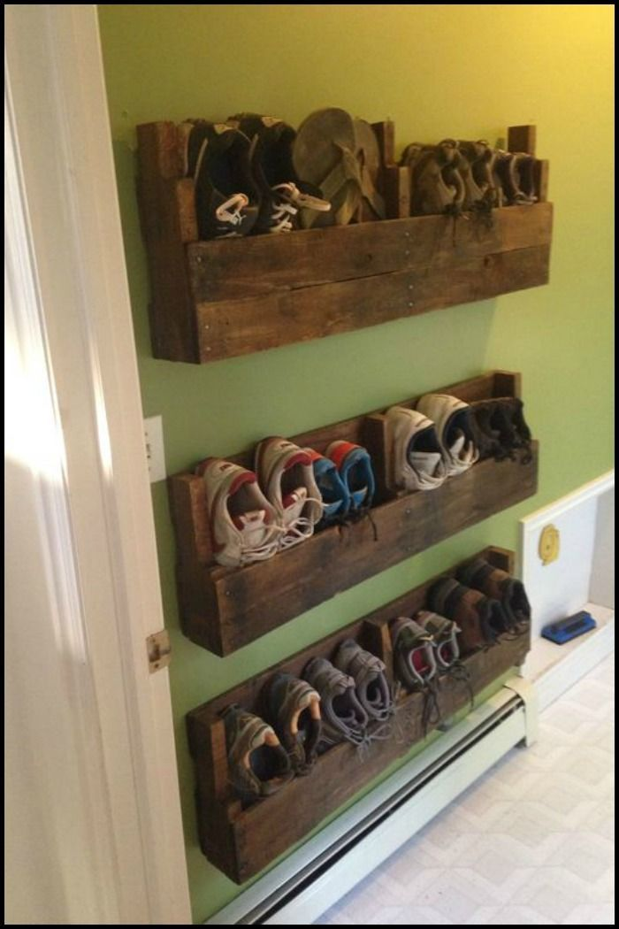 Zapatero Crafts Pinterest Pallets, Shoe rack and Pallet furniture