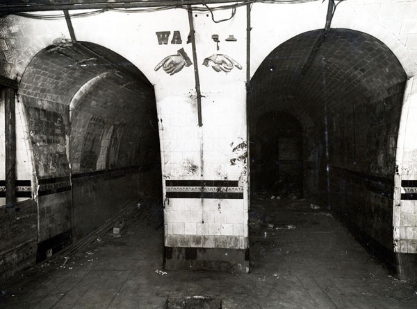 The oldest abandoned tube station is King William Street, which was closed in 1900 when the better appointed Bank station opened.