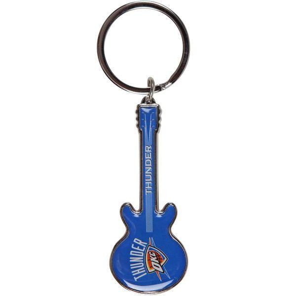 Oklahoma City Thunder Guitar Bottle Opener Keyring
