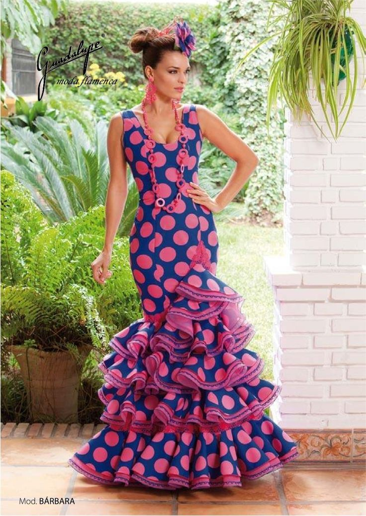 Flamenco dress in couture outlet