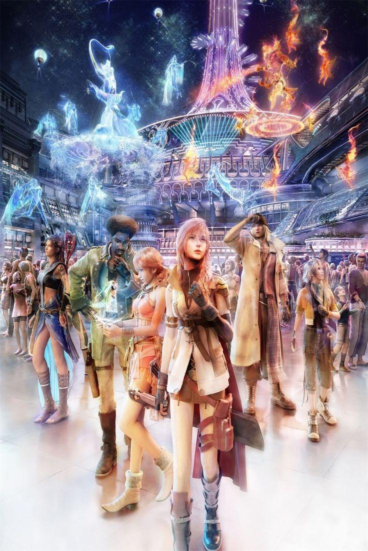 Final Fantasy XIII УС 13 Видео Игры Плакат 12x18 20x30 дюймовый Шелковый Ткань Холста Стены Искусства декор На Заказ Печати YX661