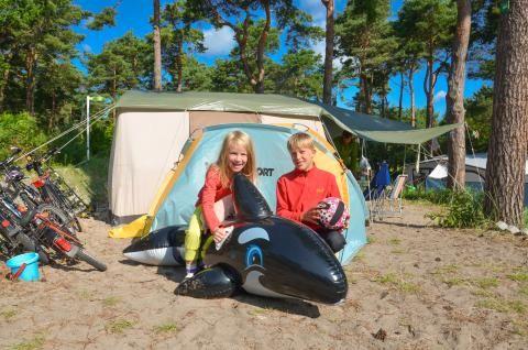 Das 5 Sterne #Dünencamp auf #Usedom Foto: Dünencamp #meckpomm #urlaub #ferien #campen #camping #karlshagen #ostsee